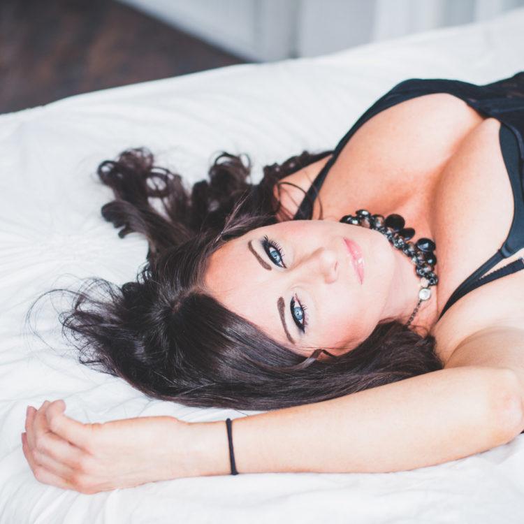 lingerie boudoir photography