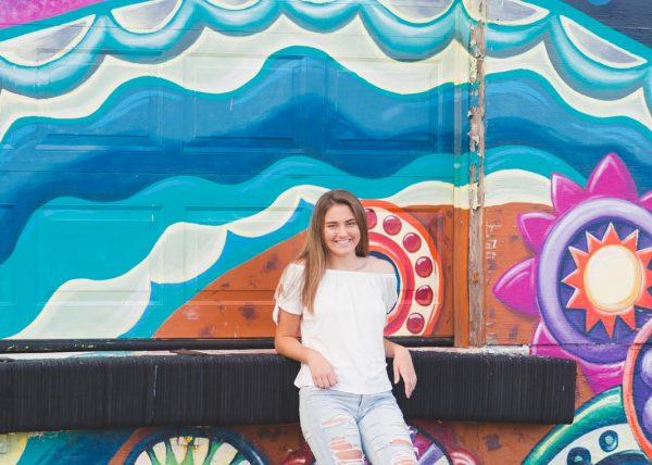 downtown senior pictures dayton ohio