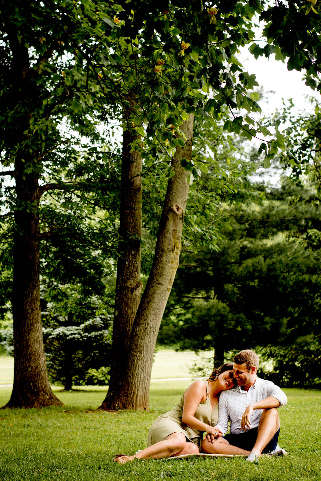 Engagement Photos by Brooke Ashley Photography in Dayton Ohio