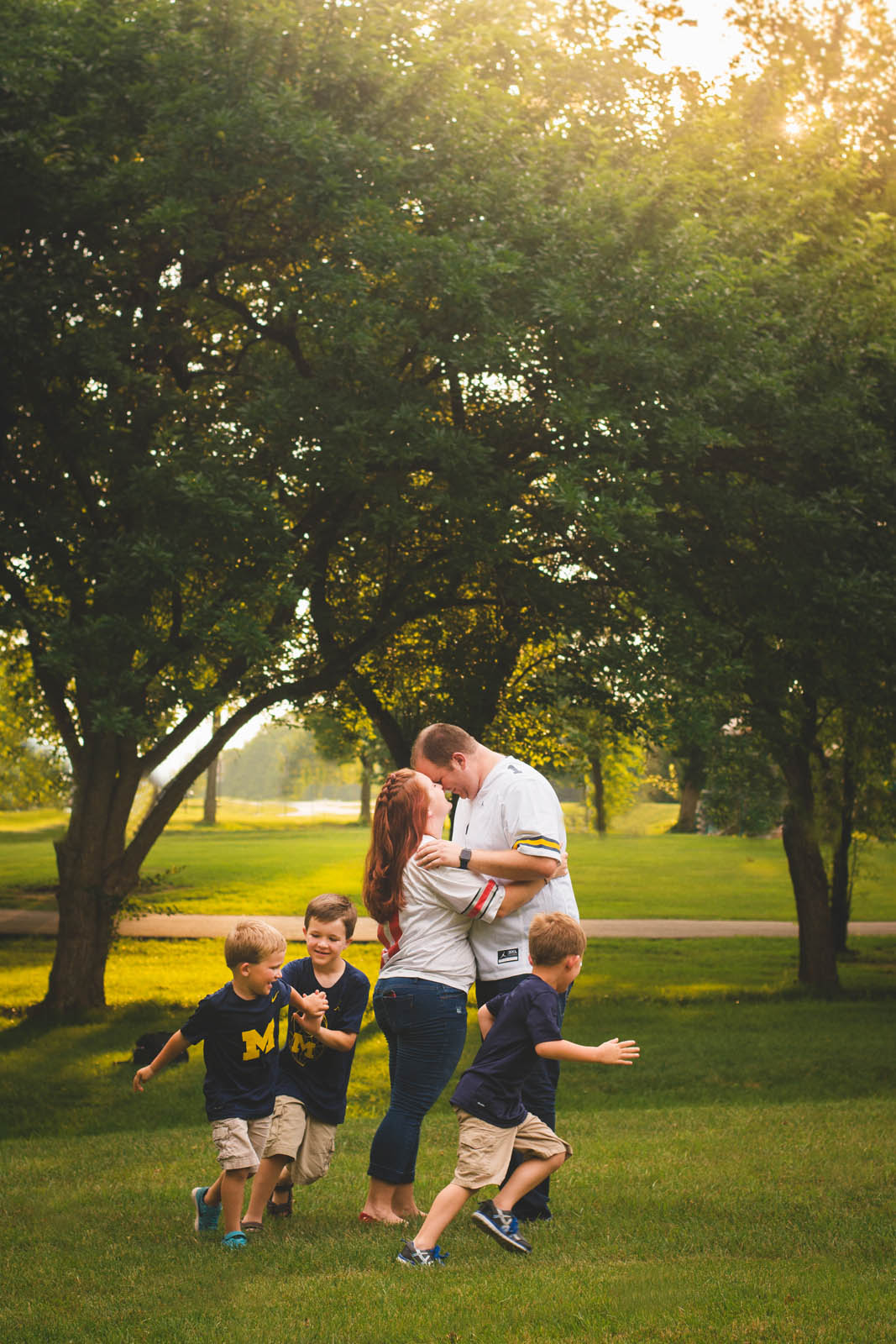 Family Portraits by Brooke Ashley Photography in Dayton Ohio