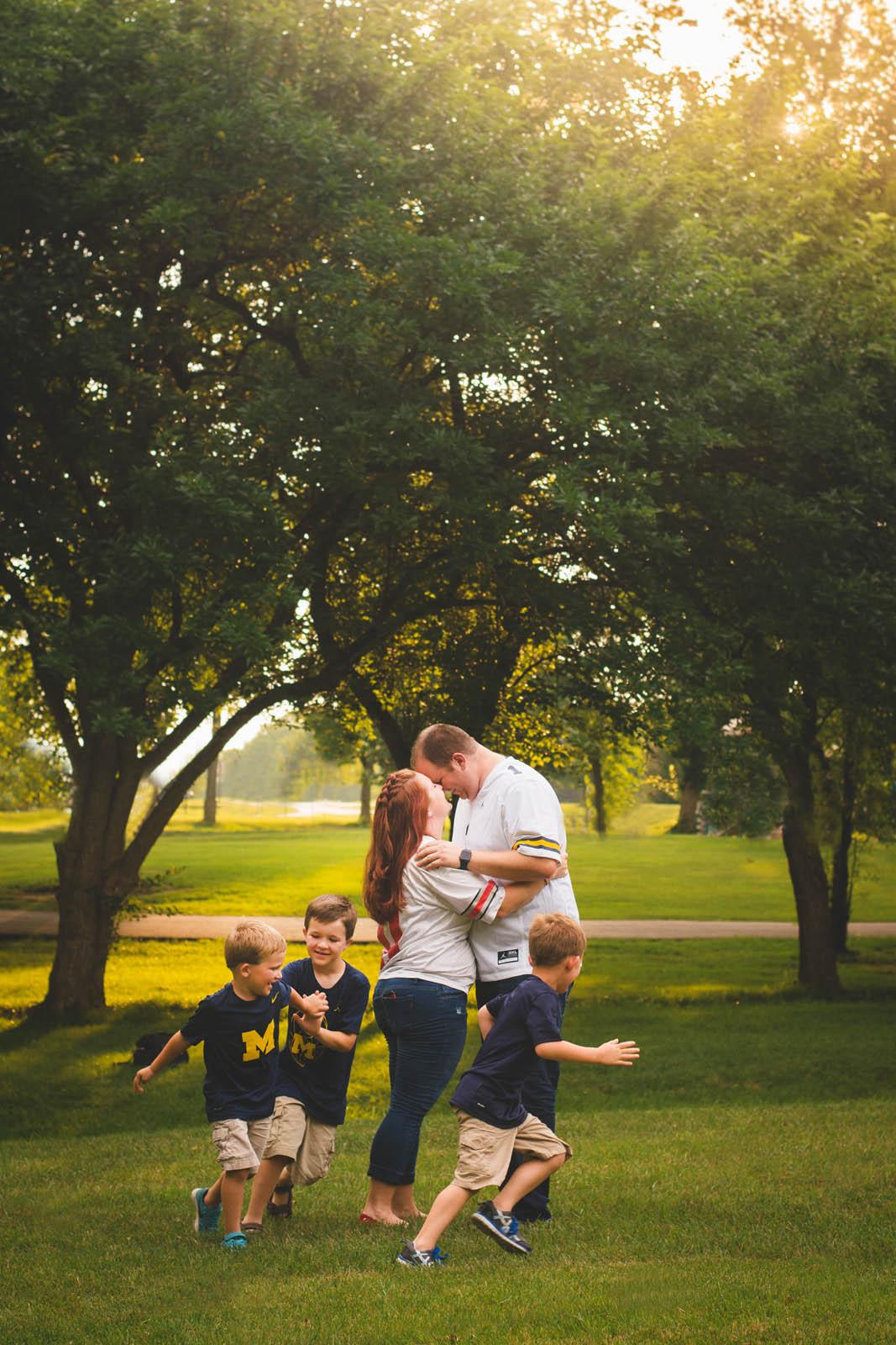 Family Portraits by Brooke Ashley Photography in Dayton Ohio